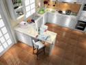 简单时尚白色系厨房_维意定制家具商城