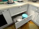 厨房装修效果图 9�O省空间又美观_维意定制家具商城