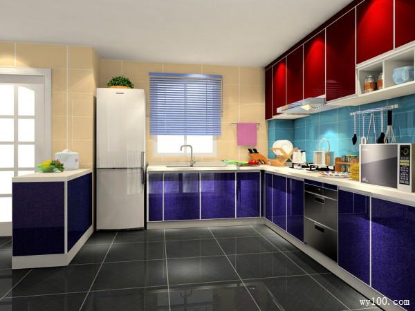 15平后现代欧式风格厨房_维意定制家具商城