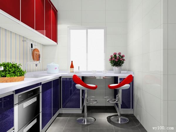 20�O摩登时尚闪亮实用厨房_维意定制家具商城