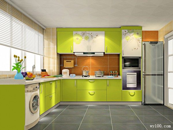简约不简单厨房设计 10平烹饪美味佳肴_维意定制家具商城