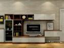 欧式客餐厅效果图 29�O看起来倍感温馨_维意定制家具商城