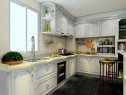 8平多种风情为一体厨房_维意定制家具商城