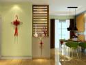 现代简约客餐厅 背景墙装饰整体风格清新自然_维意定制家具商城