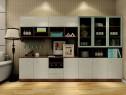 欧式客餐厅效果图 25�O餐边柜组合_维意定制家具商城