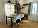 简约风格客餐厅效果图 25�O增加空间的使用率_维意定制家具商城