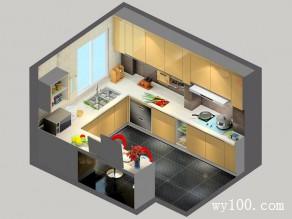 9�OU型厨房 时尚吧台设计爱酒人看过来_维意定制家具商城