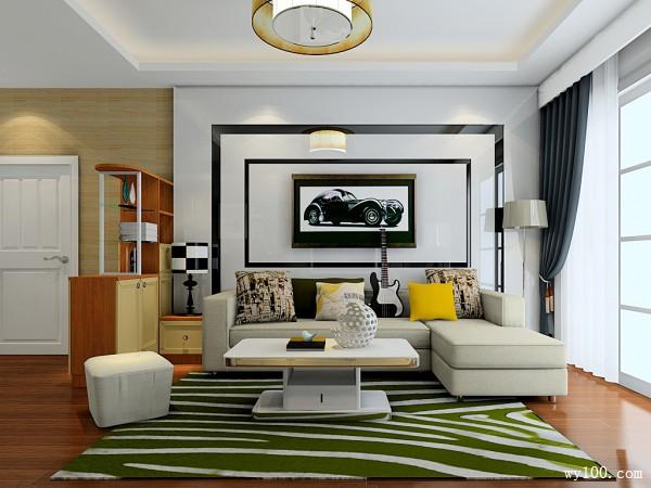复古中国风设计客餐厅 10�O大气厚重,富有韵味_维意定制家具商城