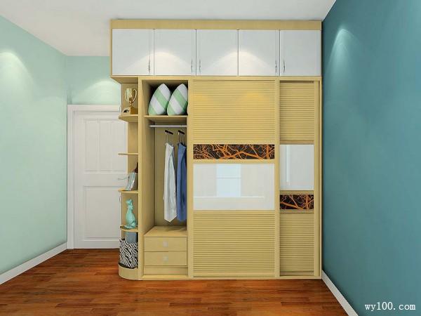 衣柜飘窗卧房效果图 10平原来可以这么玩!!!_维意定制家具商城
