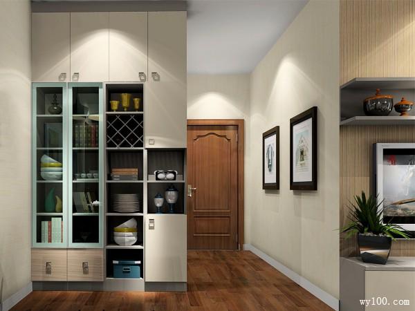 简约客餐厅装修效果图 30�O小户型房型的处理_维意定制家具商城
