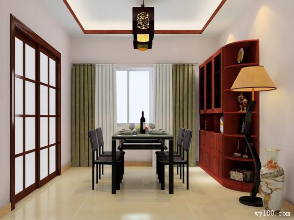 客餐厅一体效果图 37�O充满温馨之感_维意定制家具商城