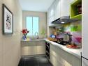 L型厨房布局 空间流畅储物性能好_维意定制家具商城