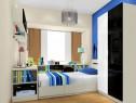蓝色调儿童房设计 一份宁静与优雅_维意定制家具商城
