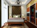 欧式简约卧房 暖色系的实用派_维意定制家具商城