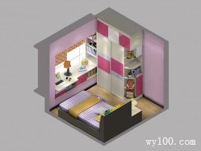 飘窗组合柜儿童房_维意定制家具商城