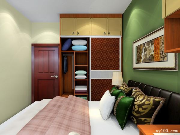 现代简约卧室 北欧风情调_维意定制家具商城