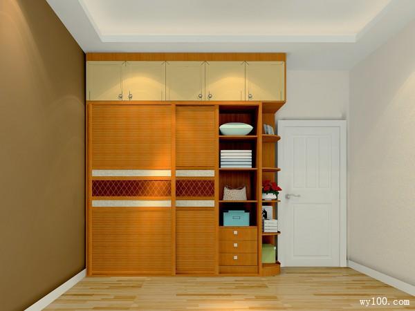 简约实木卧室 别致设计首选_维意定制家具商城