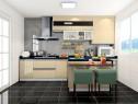 T字形厨房设计 突出空间的流动性和设计感_维意定制家具商城