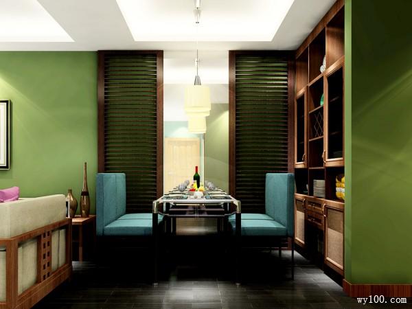 柜体组合客餐厅 时尚年轻而不失个性的美_维意定制家具商城