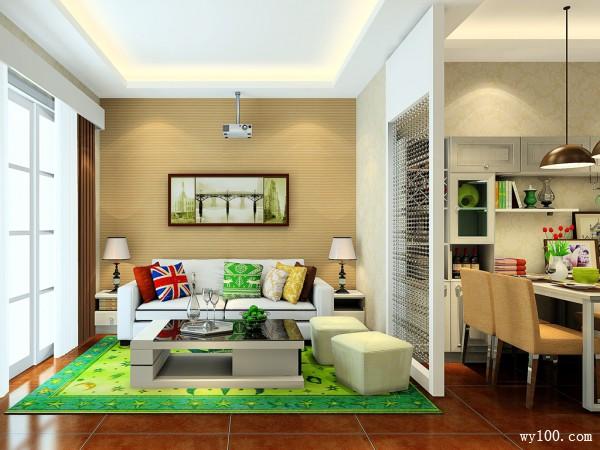 美式客餐厅 以田园为主导营造空间简洁明了_维意定制家具商城