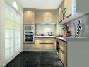 现代温馨厨房效果图 简约实用_维意定制家具商城