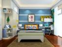 简约海洋风儿童房_维意定制家具商城