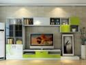 清新简约客餐厅 储物展示两齐全_维意定制家具商城