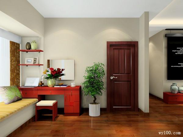 卧室装修效果图 24�O线条简约明快_维意定制家具商城