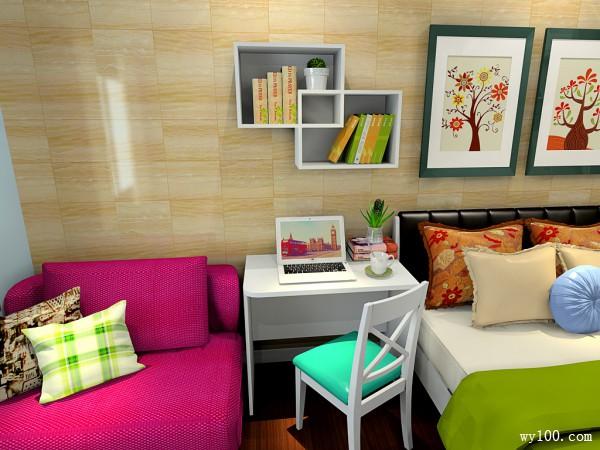 简约沙发茶几卧室装修效果图
