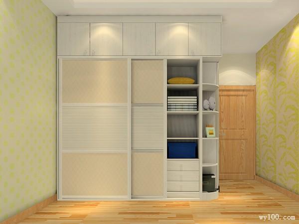飘窗卧室设计 28�O拯救不规则超大卧室_维意定制家具商城