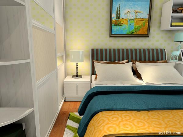 宽敞卧室效果图 10�O刚需族最爱_维意定制家具商城