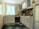 欧式时尚厨房效果图_维意定制家具商城
