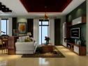 欧式客餐厅效果图 沙发摆设利于主人财远_维意定制家具商城