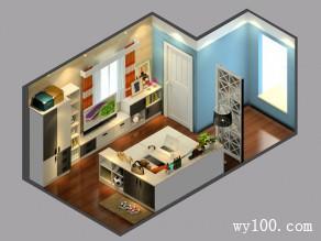 简约榻榻米客餐厅 18平方便实用_维意定制家具商城