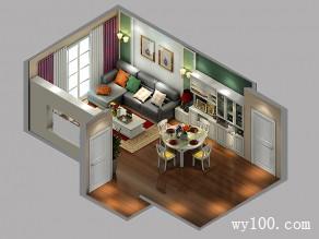 简约客餐厅 29�O 象牙白板材饰家优雅细致_维意定制家具商城