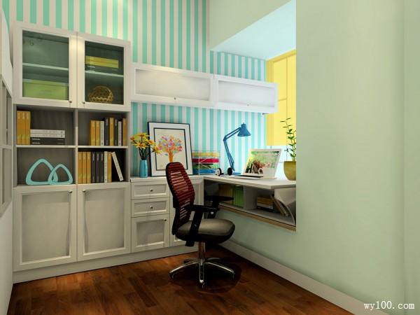 书桌卧室装修效果图