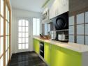 5平小厨房 深藏在春天里_维意定制家具商城