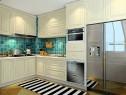 清新田园厨房效果图 让下厨也能有个好心情_维意定制家具商城