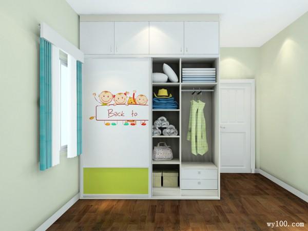 飘窗榻榻米儿童房 柜体结合增加收纳功能_维意定制家具商城