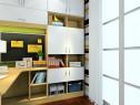 多功能书房效果图 7�O轻松满足收纳需求_维意定制家具商城