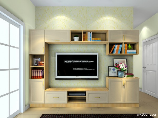 简约电视柜装修效果图
