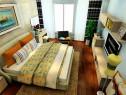 简约卧室效果图 21�O意大利风散发奢华光芒_维意定制家具商城