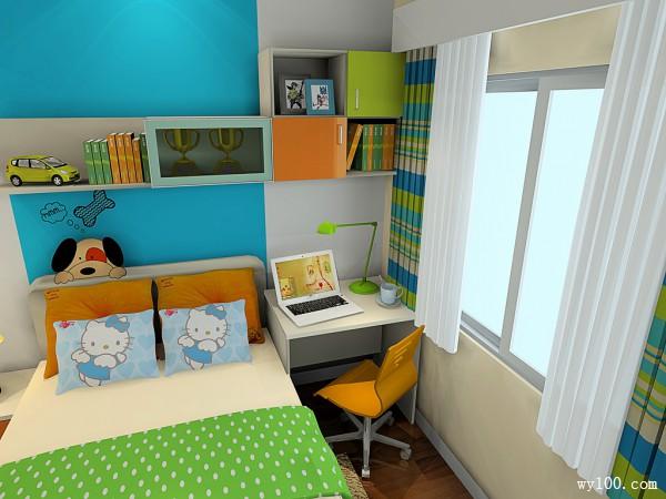 童趣儿童房效果图 适合儿童的活泼俏皮可爱_维意定制家具商城