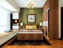 复古卧室效果图 13�O让传统气息走进家_维意定制家具商城