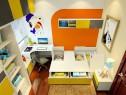 小户型儿童房效果图 给孩子的童年留下缤纷的色彩_维意定制家具商城
