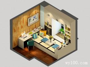 欧式卧室效果图  11�O多功能榻榻米收纳超强_维意定制家具商城