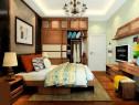 中式卧室效果图 孝敬爸妈的12�O贴心设计_维意定制家具商城