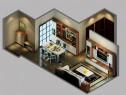 欧式客餐厅效果图 28�O 带给你低调奢华的体验_维意定制家具商城