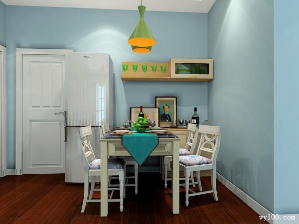 多彩客厅效果图 61�O令人耳目一新的色彩搭配_维意定制家具商城