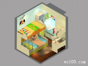 6�O上下床儿童房 不想长大的乐园_维意定制家具商城